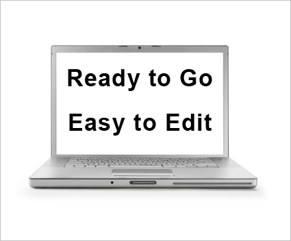Ready To Go, Easy to Edit Employee Handbook